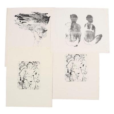 "John Tuska Stone Lithographs Including ""Summertime Storm,"" circa 1970"
