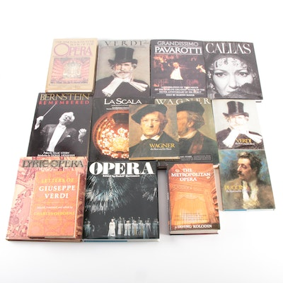"""""""Wagner,"""" """"Verdi,"""" and More Books on Opera and Classical Music History"""