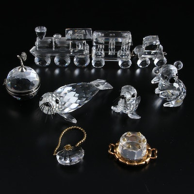 "Swarovski ""Celebrations"", ""Your Special Treasures"" and More Crystal Figurines"