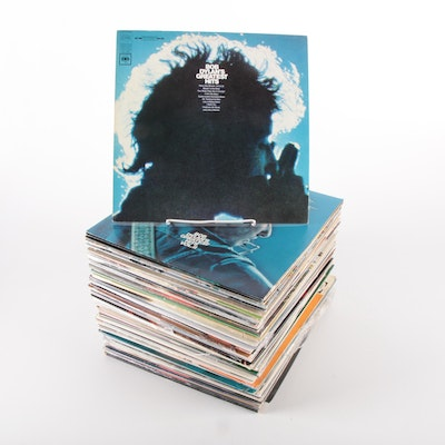 Bob Dylan, Neil Diamond, Rory Gallagher, and More Vinyl Record Albums