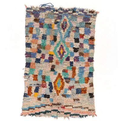 4'1 x 5'8 Hand-Knotted Rag Rug