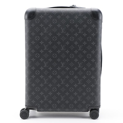 Louis Vuitton Horizon 55 Rolling Suitcase in Monogram Eclipse