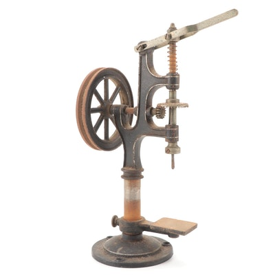 Cast Iron Table Top Drill Press, Late 19th/Early 20th Century
