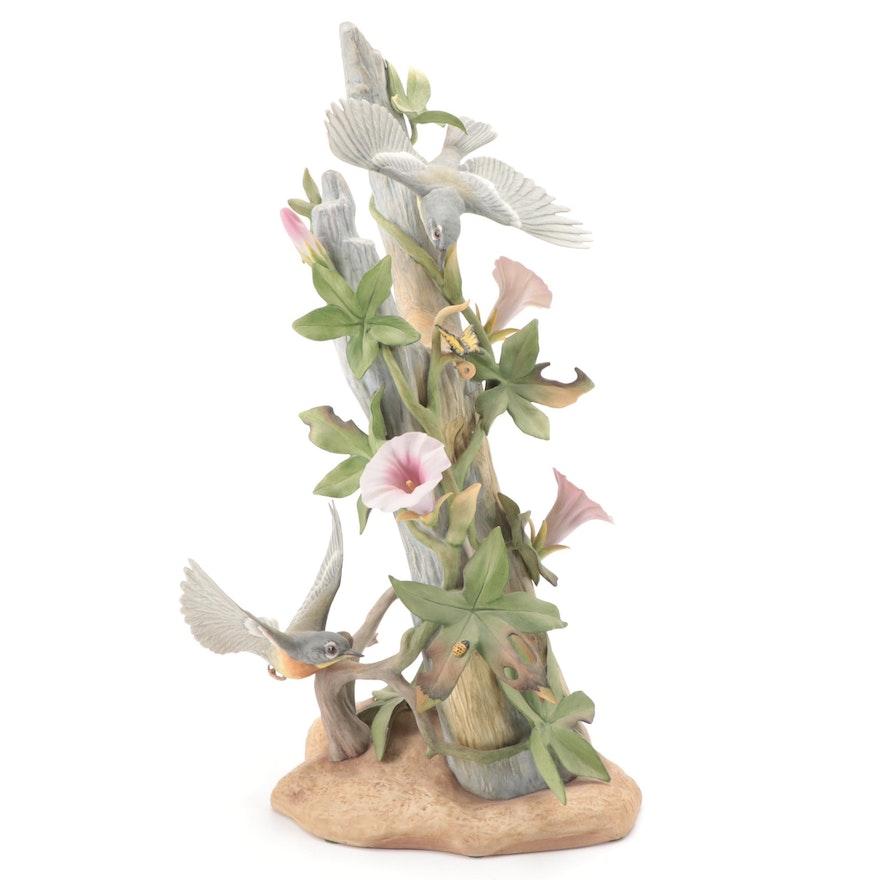 "Boehm ""Parula Warblers"" Porcelain Figurine,  2015"