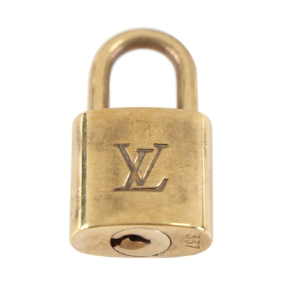 Louis Vuitton Padlock and Key