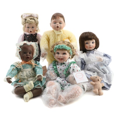 """My Closest Friend"" and ""Beautiful Dreamers"" and Other Porcelain Dolls"