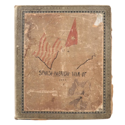 Illustrated Scrapbook of the Spanish-America War, Late 19th/Early 20th Century