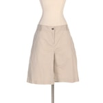 Burberry Khaki Skort with Front Gusset