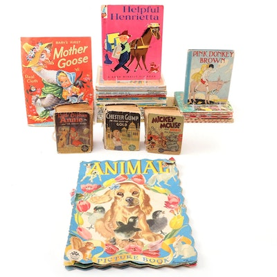 """""""Mickey Mouse and Bobo the Elephant"""" and More Children's Books"""