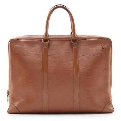Louis Vuitton Porte-Documents Voyage in Cipango Gold Epi Leather