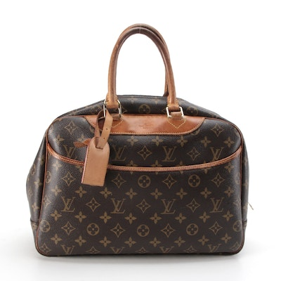 Louis Vuitton Deauville Bag in Monogram Canvas