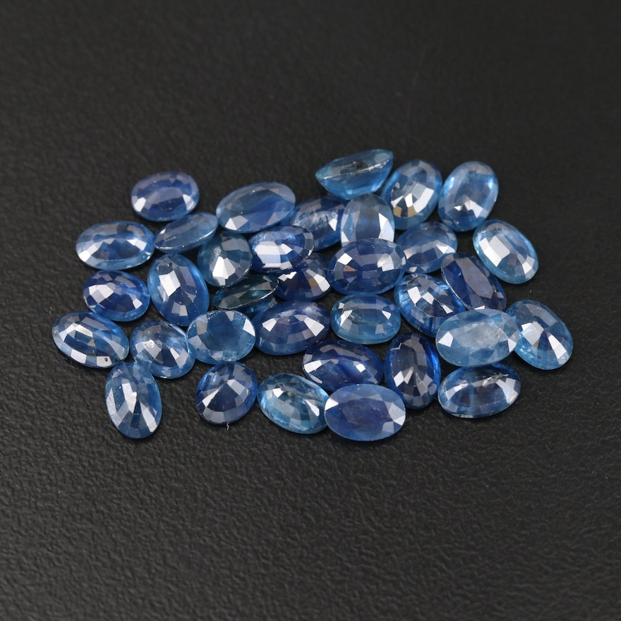 Loose 16.94 CTW Oval Faceted Sapphire