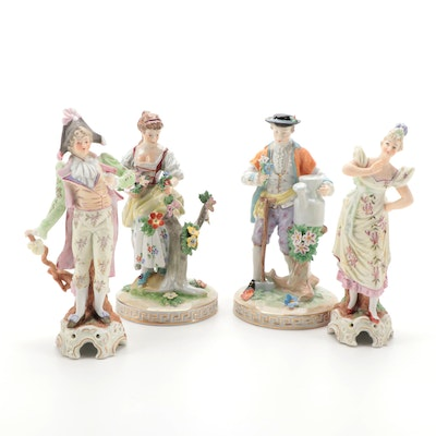 Carl Thieme and Eric Stauffer for Arnart Figural Porcelain Figurines