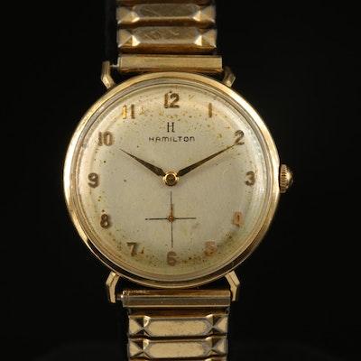 Hamilton 14K Wristwatch