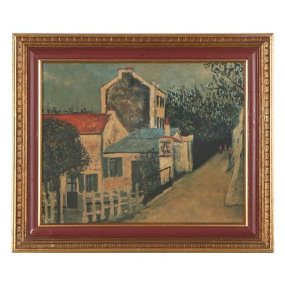 Offset Lithograph after Maurice Utrillo