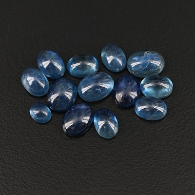 Loose 18.92 CTW Oval Sapphire Cabochon