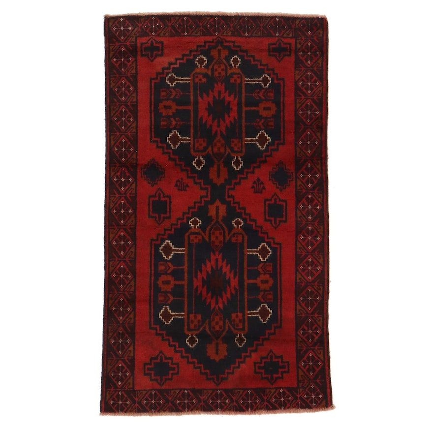 2'10 x 4'11 Hand-Knotted Accent Rug