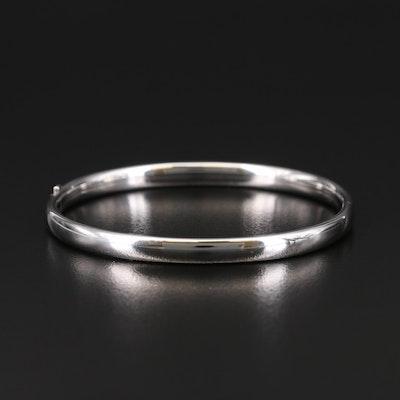 Sterling Tube Bracelet