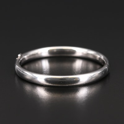 Child's Sterling Hinged Bangle