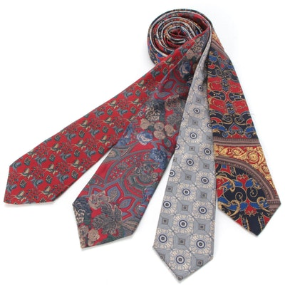 Bill Blass, Sheaf & Caber, The Metropolitan Museum of Art and Other Neckties