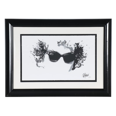 Joe Petruccio Giclée of Visage with Sunglasses