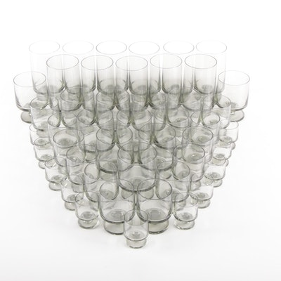 Tinted Glass Goblets, Cocktail Glasses and Stemware