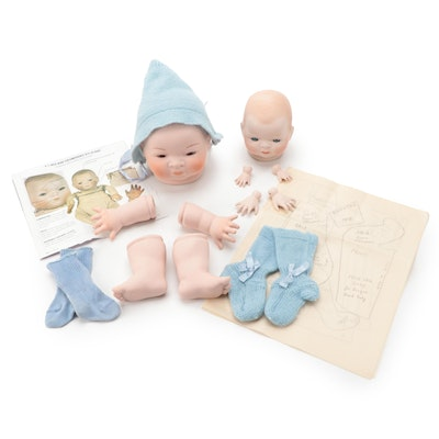 Reproduction Grace Storey Putnam Bye-Lo Baby Kit, Late 20th to 21st Century