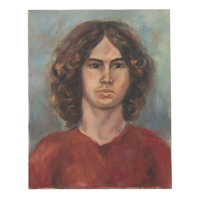 Oil Portrait of Young Man, circa 2000