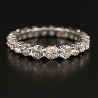 14K 2.06 CTW Graduated Diamond Eternity Band