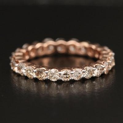 14K Rose Gold 1.76 CTW Diamond Eternity Band