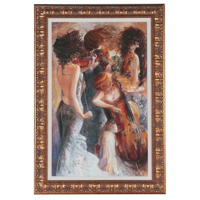 """Lena Sotskova Embellished Giclée """"Fantasy"""""""