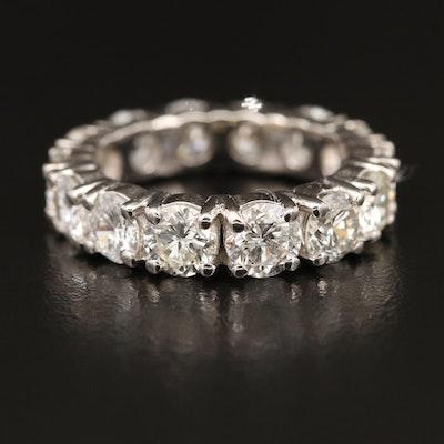 18K 5.46 CTW Diamond Eternity Band