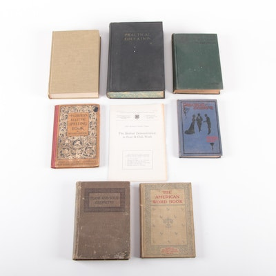 """Practical Education"" and More Textbooks, Late 19th to Mid-20th Century"