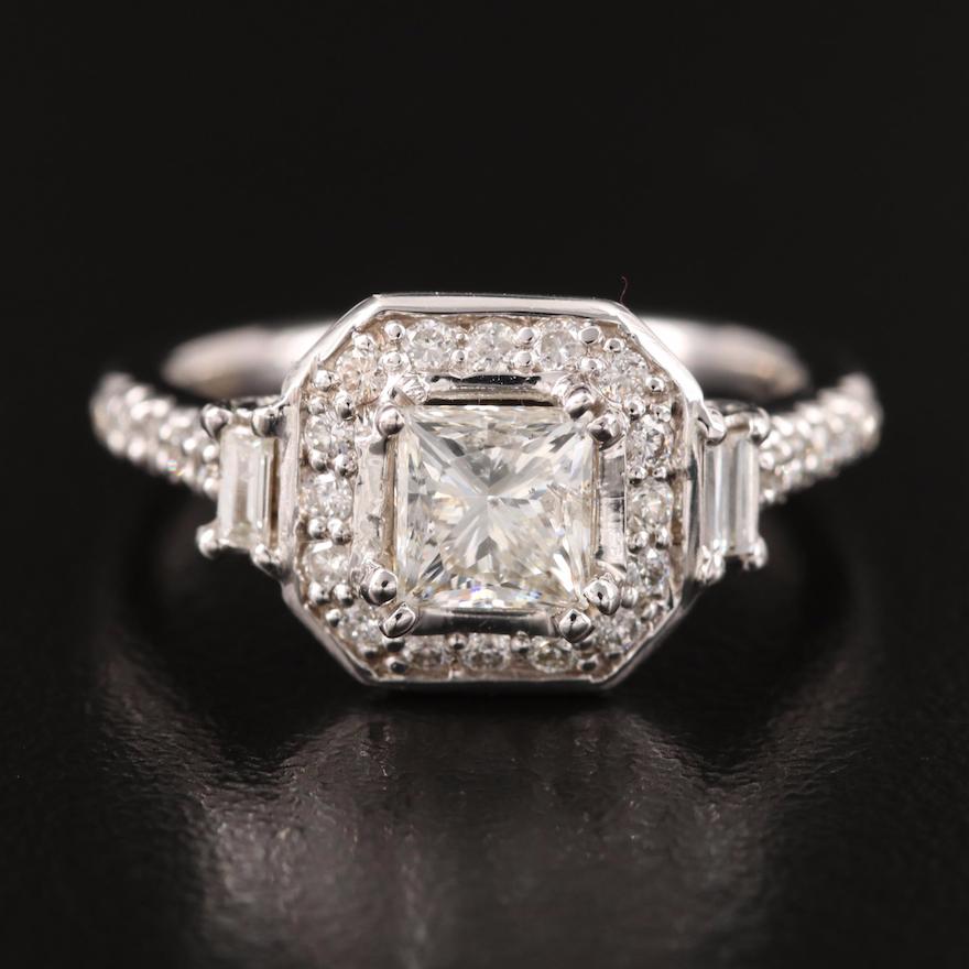 18K 1.49 CTW Diamond Ring