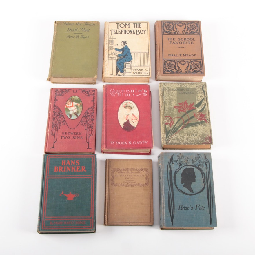"""""""Hans Brinker"""" by Mary Mapes Dodge and More Novels, Early 20th Century"""
