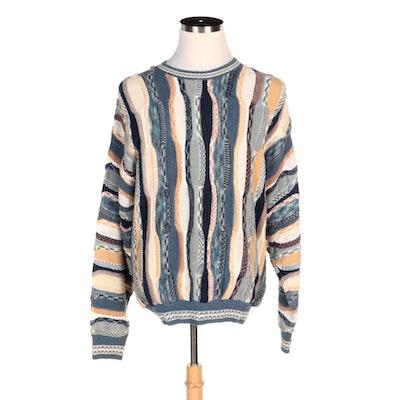 Men's Idea Uomo Coogi Style Cotton Blend Sweater