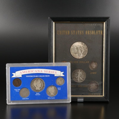 Two U.S. Type Coin Sets, Including Silver