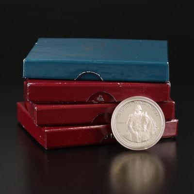 Washington Bicentennial Commemorative Silver Half Dollars