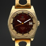 Vintage Tissot Seastar PR516 GL Gold Plated Automatic Wristwatch