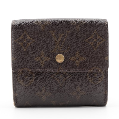 Louis Vuitton Elise Wallet in Monogram Canvas