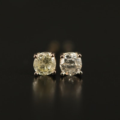 14K 0.19 CTW Diamond Stud Earrings