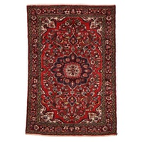 3'9 x 5'5 Hand-Knotted Persian Malayer Area Rug