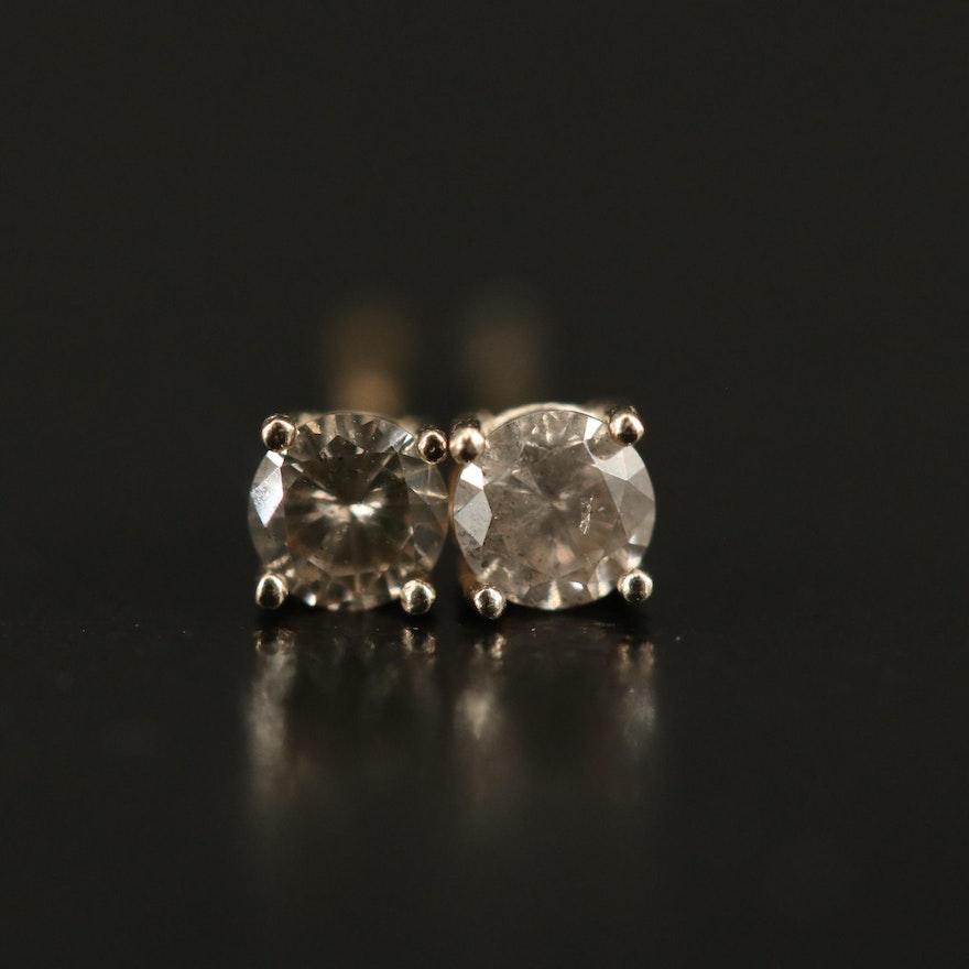 14K 0.20 CTW Diamond Stud Earrings