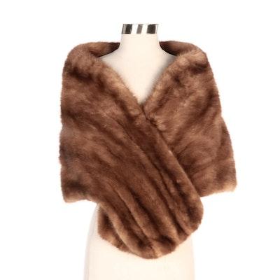 John Ross Originals Mink Fur Stole