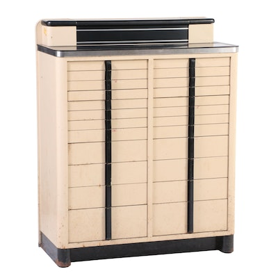 American Cabinet Co. Art Deco 24 Drawer Dental Cabinet, Mid-20th Century