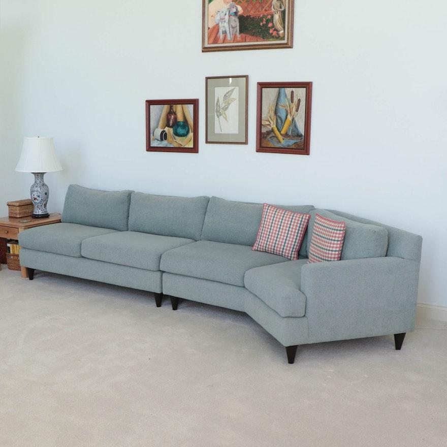 Carter Furniture Sectional Conversation Sofa