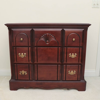 Little Folk's Chippendale Style Cherry Finish Maple Dresser