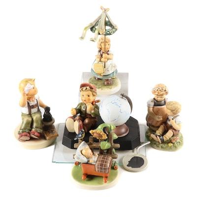 """Goebel """"May Dance"""", """"Blumenkinder"""" and Other Porcelain Hummel Figurines"""