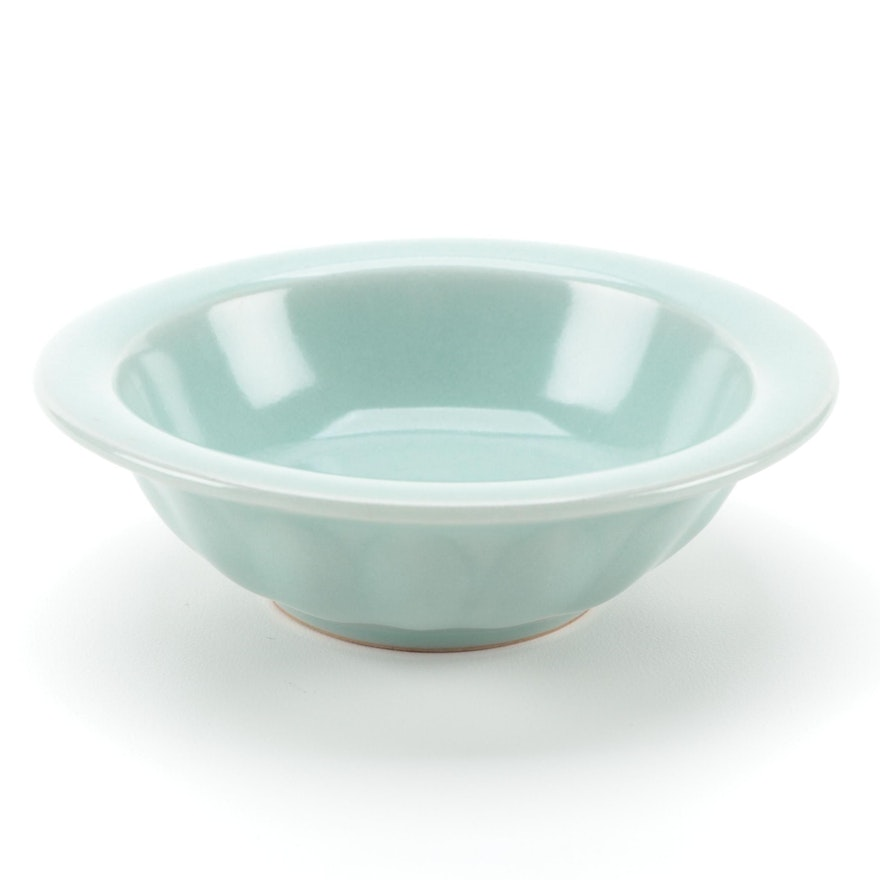 "Chinese Celadon ""Twin Fish"" Dish"
