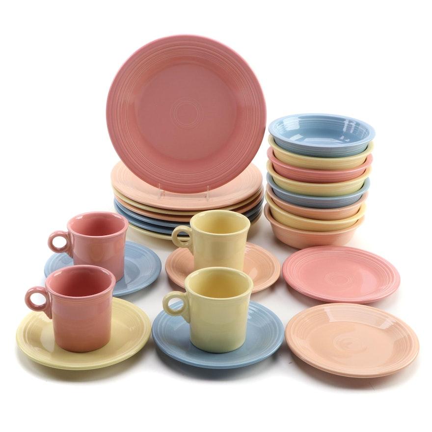 Homer Laughlin Co. Fiesta Dinnerware, Mid to Late 20th Century